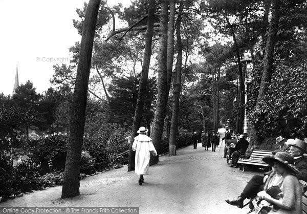 Bournemouth, The Pine Walk 1922