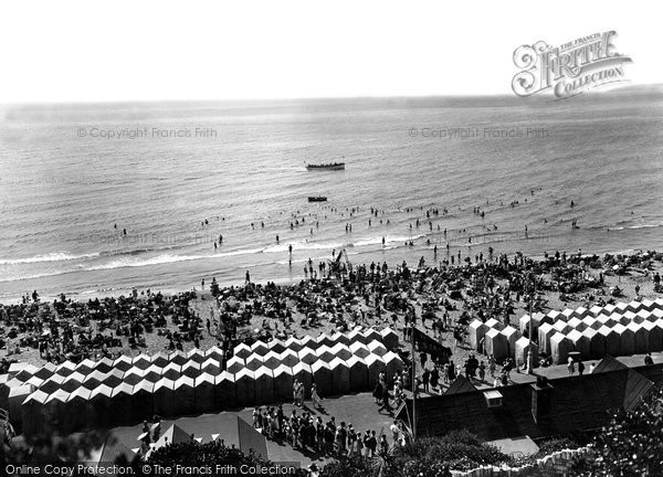 Bournemouth, The Sands 1925