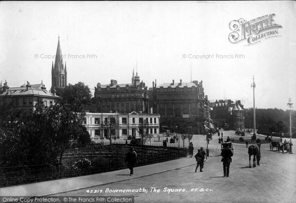 Bournemouth, The Square 1900
