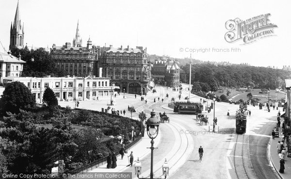 Bournemouth, The Square 1904