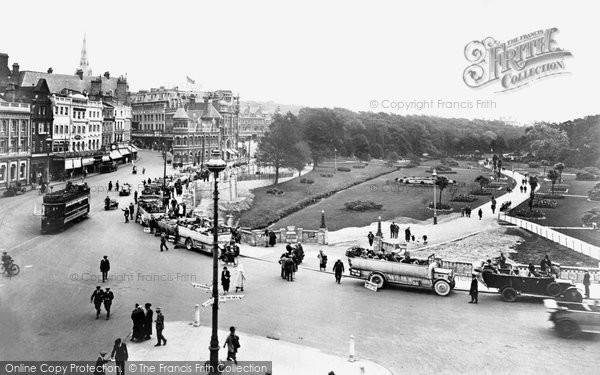 Bournemouth, The Square 1923