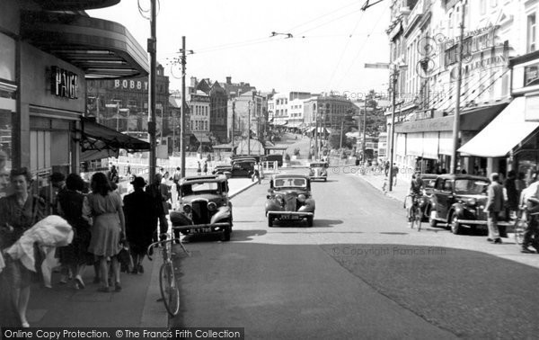 Bournemouth, The Square c.1955