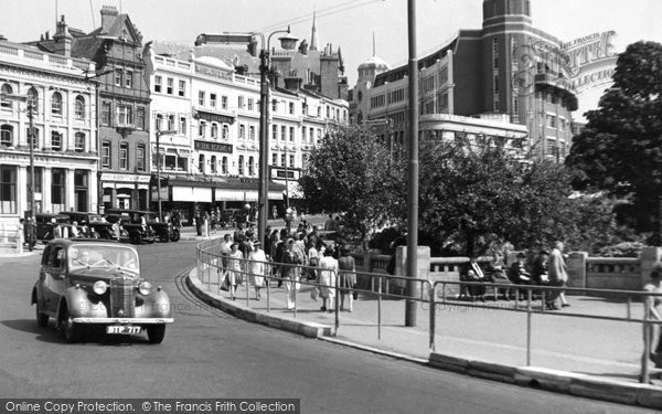 Bournemouth, the Square c1955