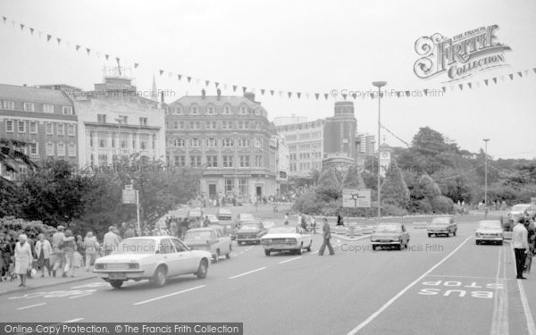 Bournemouth, The Square Towards Old Christchurch Road 1970