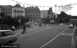 Bournemouth, The Square Towards Old Christchurch Road c.1977