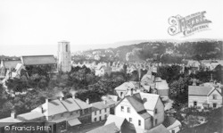 Bournemouth, View From Richmond Gardens 1871