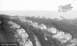 Bournemouth, View From St Peter's Church 1879