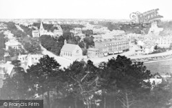 Bournemouth, View From Terrace Mount 1876