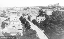 Bournemouth, View Towards Lansdowne From Holy Trinity Tower 1878
