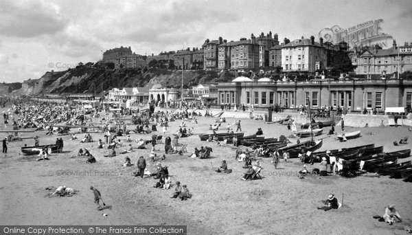 Bournemouth, West Cliff And Sands 1922