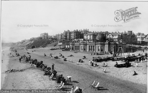 Bournemouth, West Cliff From The Sea 1897