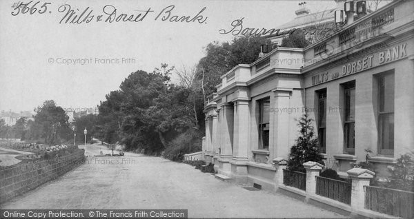Bournemouth, Wilts And Dorset Bank c.1871
