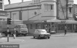 Bournemouth, Winton Banks, Wimborne Road c.1975