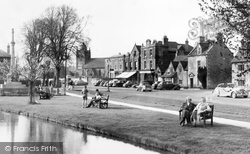 By The Windrush 1956, Bourton-on-The-Water