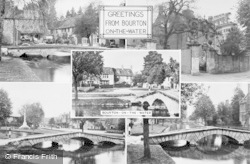 Bourton-on-The-Water, Composite c.1950