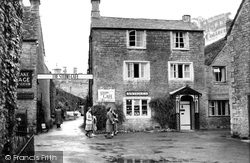 Bourton-on-The-Water, Entrance To Studio Café c.1950