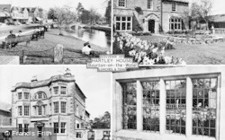 Hartley House Composite c.1955, Bourton-on-The-Water