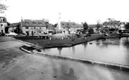 Bourton-on-The-Water, Memorial Corner c.1955