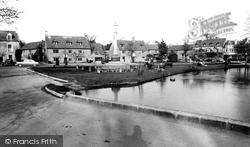 Memorial Corner c.1955, Bourton-on-The-Water