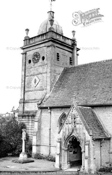 Bourton On The Water, St Lawrence Church c.1950