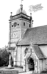 St Lawrence Church c.1950, Bourton-on-The-Water