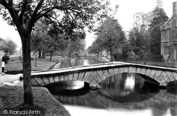 The Green c.1950, Bourton-on-The-Water