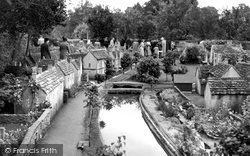 The Model Village c.1950, Bourton-on-The-Water