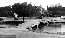 The River Windrush c.1965, Bourton-on-The-Water