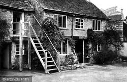 The Studio Café c.1955, Bourton-on-The-Water