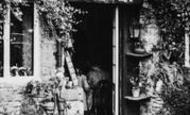 Bourton-on-The-Water, The Studio Café Doorway c.1955