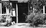 Bourton-on-The-Water, The Studio Café Entrance c.1955