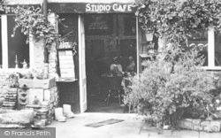 The Studio Café Entrance c.1955, Bourton-on-The-Water