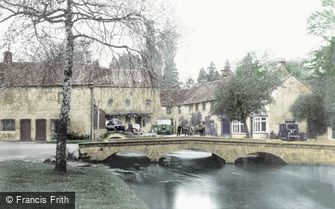 Bourton-on-the-Water, the Village c1950