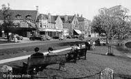 Bourton-on-The-Water, The Village Green c.1955