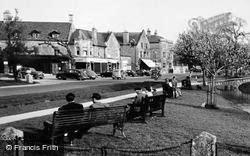 The Village Green c.1955, Bourton-on-The-Water