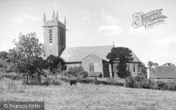 St George's Church c.1955, Bourton