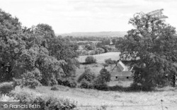 View From The Hill c.1955, Bourton