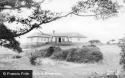 Boverton, Camp, Hafod c.1955