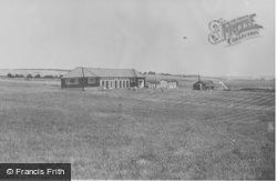 Camp Hall And Huts c.1955, Boverton