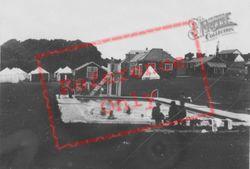Camp Swimming Pool c.1950, Boverton