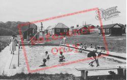 Camp, Swimming Pool c.1950, Boverton