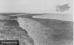 Cliffs And Beach c.1955, Boverton