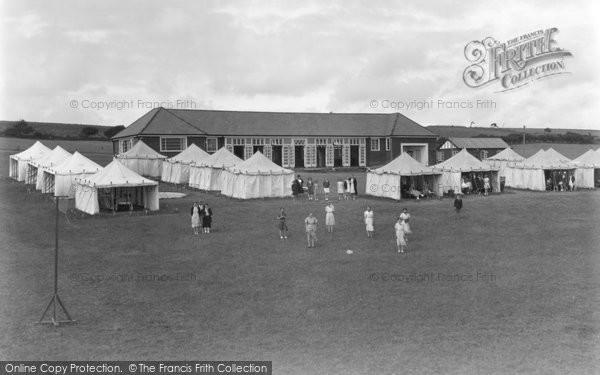 Boverton, Girls Camp c.1950