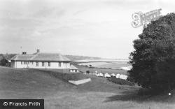 Boverton, Girls Camp, Showing Hafod c.1950