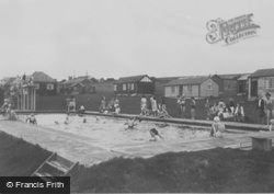 The Camp Swimming Pool c.1955, Boverton