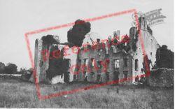 The Castle c.1950, Boverton
