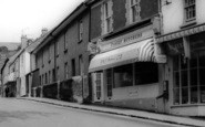 Bovey Tracey, Butcher's Shop In Fore Street c.1965
