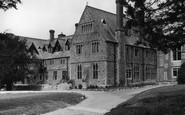 Bovey Tracey, Devon House c1955