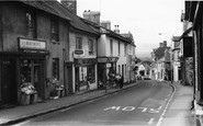 Bovey Tracey, Fore Street c.1965