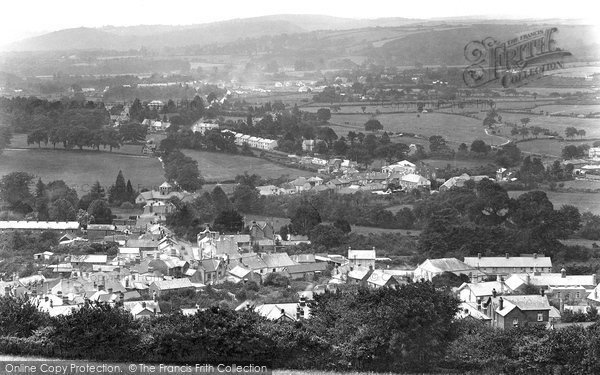 Bovey Tracey, General View 1925